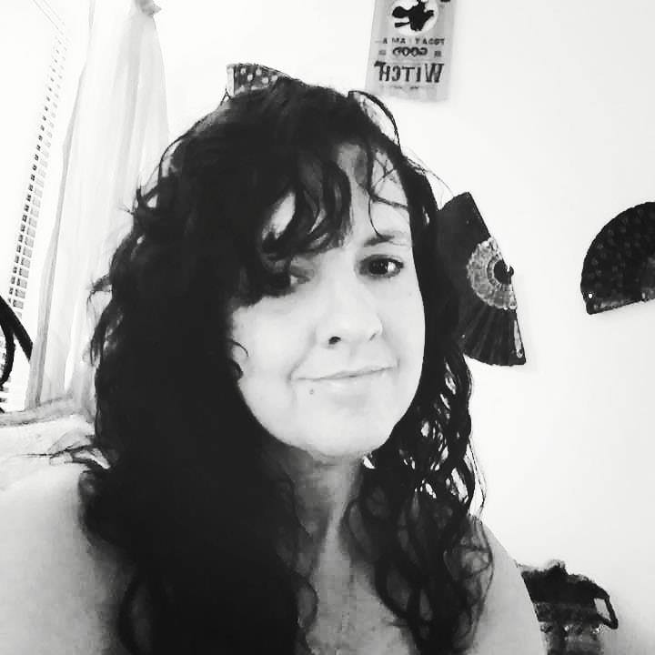 Stephanie McGrath black and white