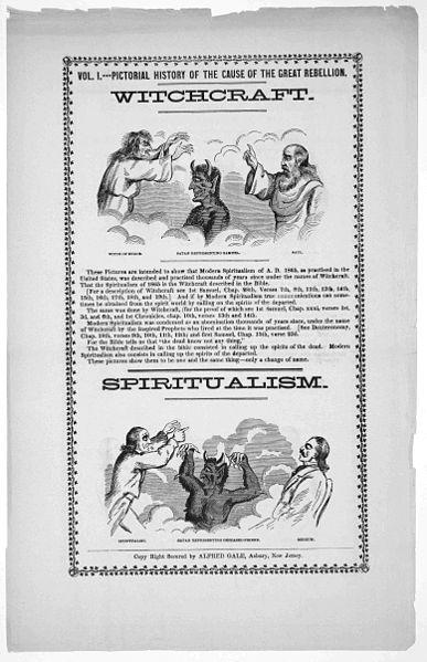Broadsheet on Spiritualism and Witchcraft