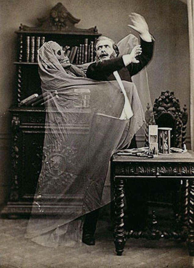 Henri Robin and A Specter Eugene Thiebault