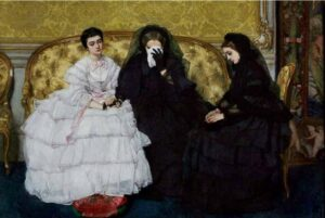 Female Mourners Crying
