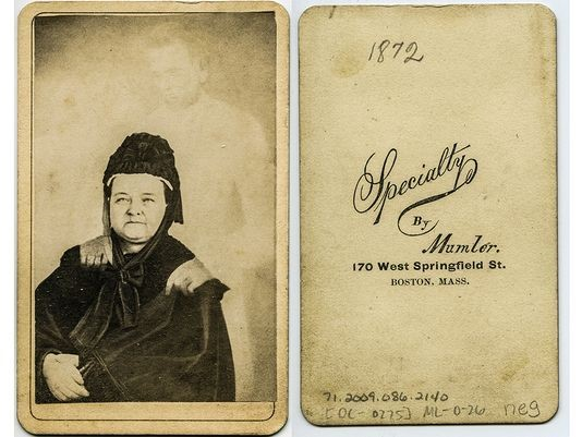 Mary Todd Lincoln and President Lincoln Portrait