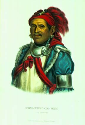 Tenskwatawa The Prophet portraiture