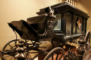 Victorian Mourning Museum Herse Carriage